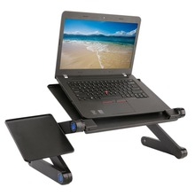Adjustable Foldable Laptop Notebook Desk Table N Type Stand Portable Sofa Bed Tray Height 45-490mm Multi Functional Ergonomic