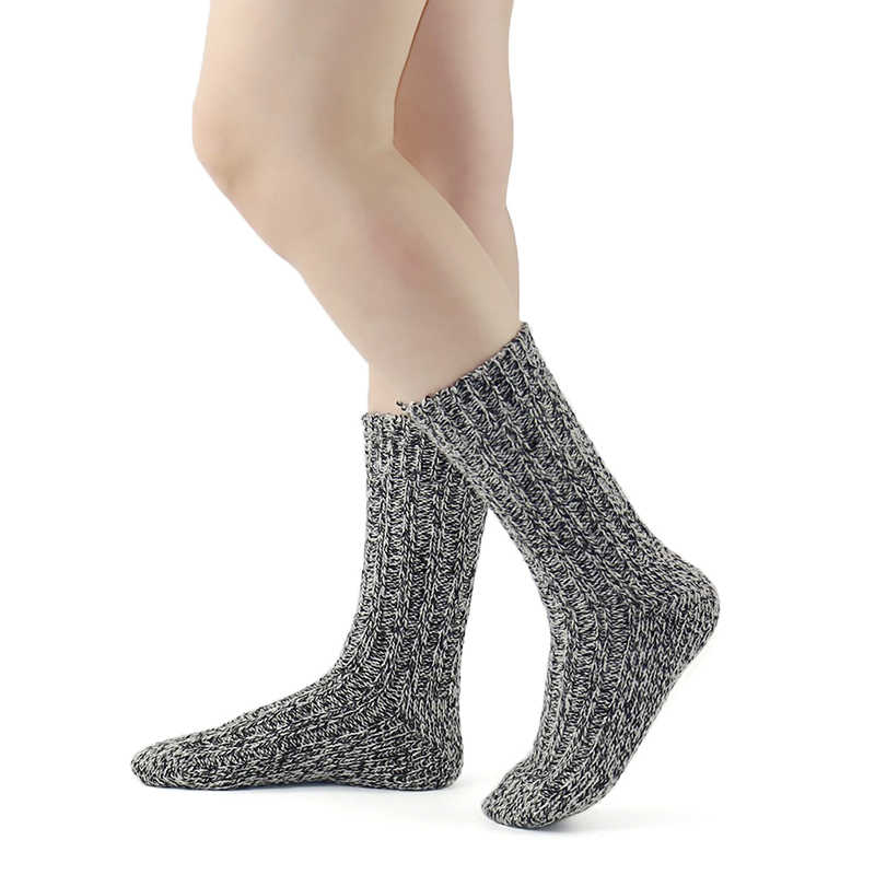 Merino ขนสัตว์ผู้หญิง/ถุงเท้าผู้ชายเกรดกัญชาฤดูหนาว Warm หนา Coolmax ชุดชั้นในการบีบอัด Snow Boot สุภาพสตรี/ ถุงเท้าชาย