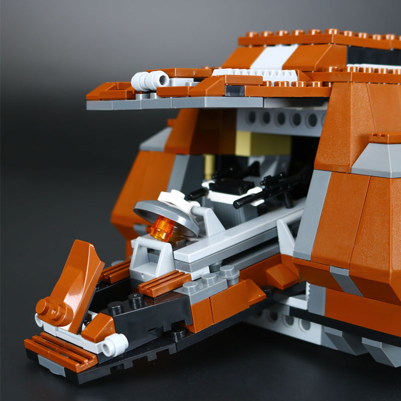 1338Pcs 05069 Lepin Star War Series The Federation