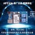 HLK-SW2 два пульта дистанционного управления сетевой релейный P2Pwifi модуль управления подарок весь набор исходный код
