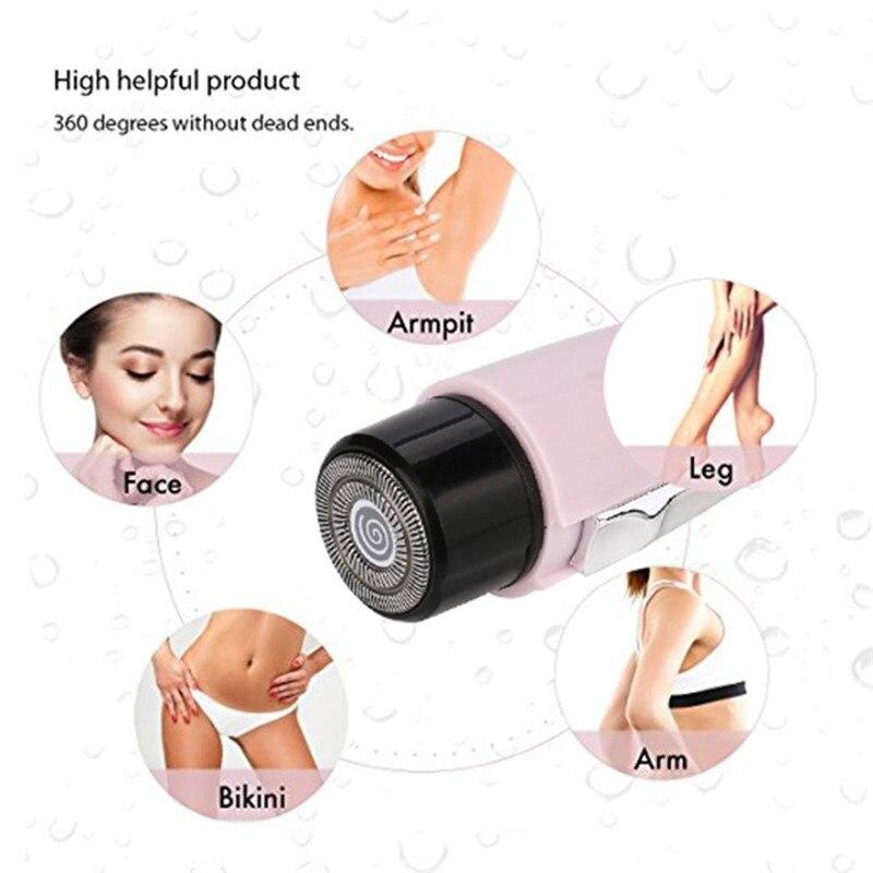Электрический эпилятор для женщин, превосходный лазерный эпилятор для удаления волос, бритва для лица, макияж для женщин, Электрический мин...
