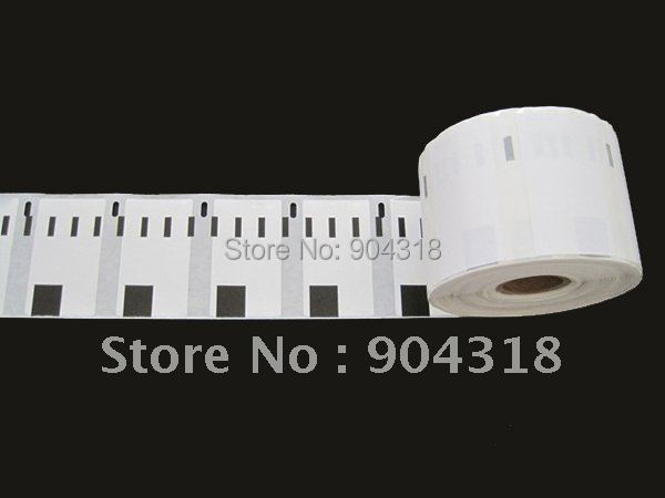 10 x rolls Dymo Compatible Labels 11354, 57mm x 32mm, 1000 labels per roll, Multi Purpose Labels,free shipping