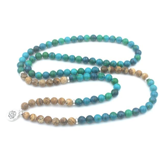 Bracelet Mala Pierre Naturelle pour prier et méditer