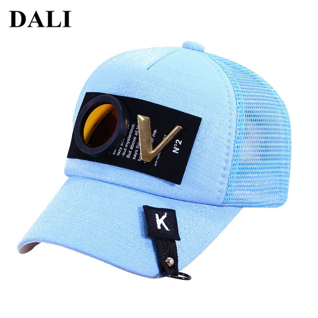 DALI 2018 Newest Children s Hat Baby Mirror Design Sun Hat Kids Baseball Caps  Toddler Boys Girls 1b1d4436ebf