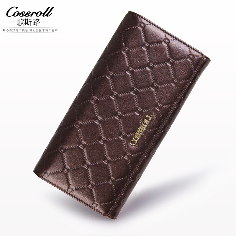 Women Genuine Leather Wallet Female Hasp Alligator Cowhide Long Wallet Cards Holder Clutch Bag Fashion Ladies Purses teemzone top european and american fashion evening bag ladies genuine leather long style hasp note compartment wallet j25