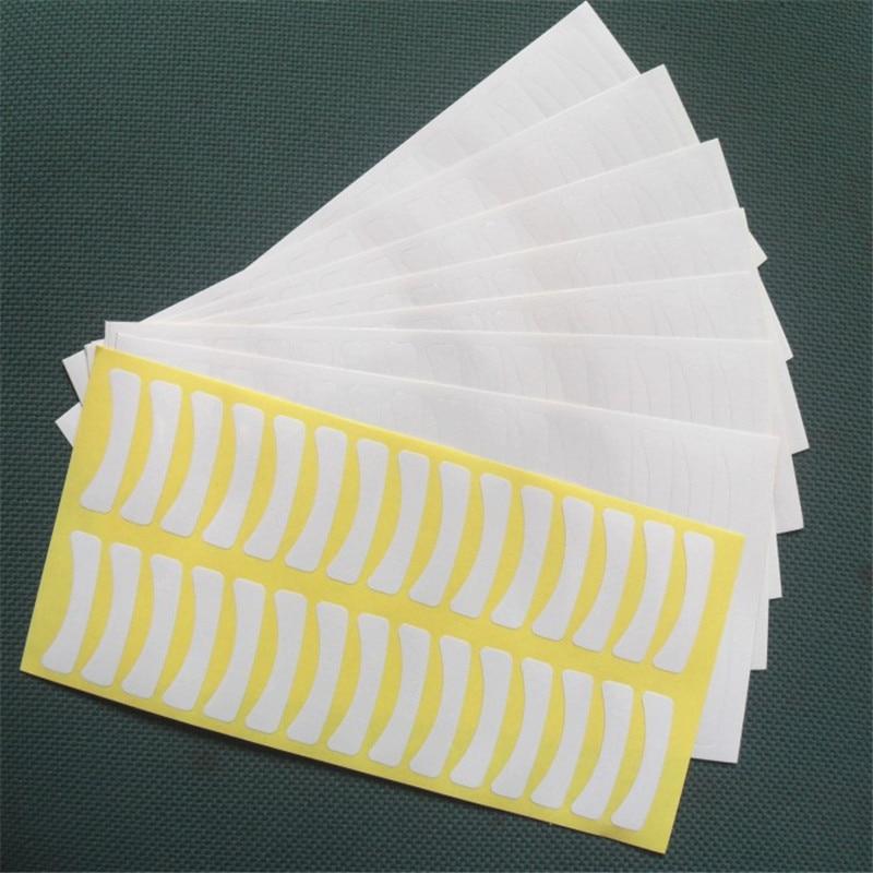 Hot Koop 100 paren / pak Papier Eye Patch Wimper Onder Eye Pads - Make-up