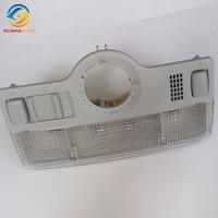 ELISHASTAR Gray Dome Light and Sunroof Switch Skylight Knob Reading Lamp FOR PASSAT B5 JETTA MK4 BORA 1J0947106,1J0 947 106