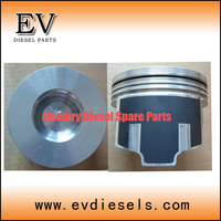 V3307 피스톤 vv3307t 피스톤 링 1g772-21050 bobcat 굴삭기 용 실린더 라이너