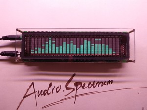 Image 2 - LINK1  VFD Music Audio Spectrum Indicator  / Audio VU Meter/Amplifier Board Level /Precision Clock/Adjustable AGC Mode