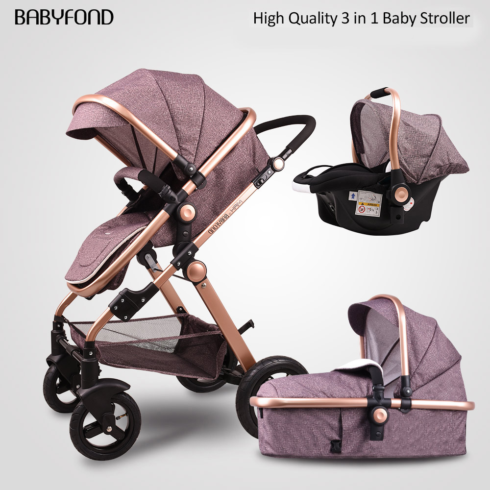 With, Stroller, Trolley, Luxurious, Lie, Seat