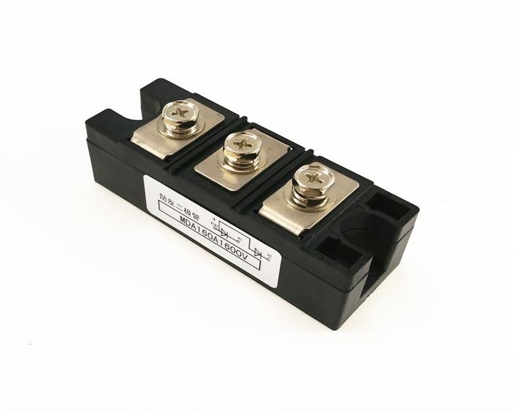Anti-anti-diode MDA 160A 1600V Rectifier diode module ordinary rectifier module md 200a 1600v 250a 1600v 300a 1600v 350a1600v 400a1600v 500a 1600v