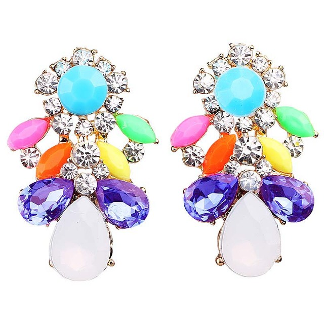 fashion stud women cartilage item bar colourful earring earrings tragus helix upper piercing