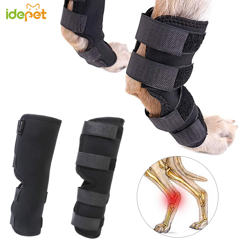 1 Set Pet Dog Bandages Dog Leg Knee Brace Straps Protection for Dogs Joint Bandage Wrap Doggy Medical Supplies Dogs Accessories3