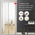 1 pc uso doméstico mosquito net cortina ímãs porta malha inseto sandfly rede com ímãs na porta malha tela imãs 5 tamanho