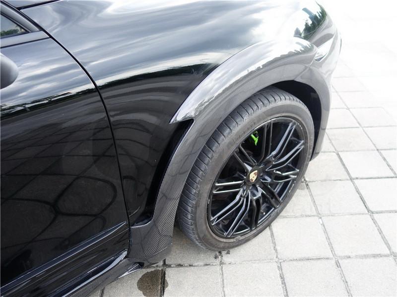 2011-2014 Porsche Cayenne 958 Hamann Style Wide Aero Body Kit CF (45)