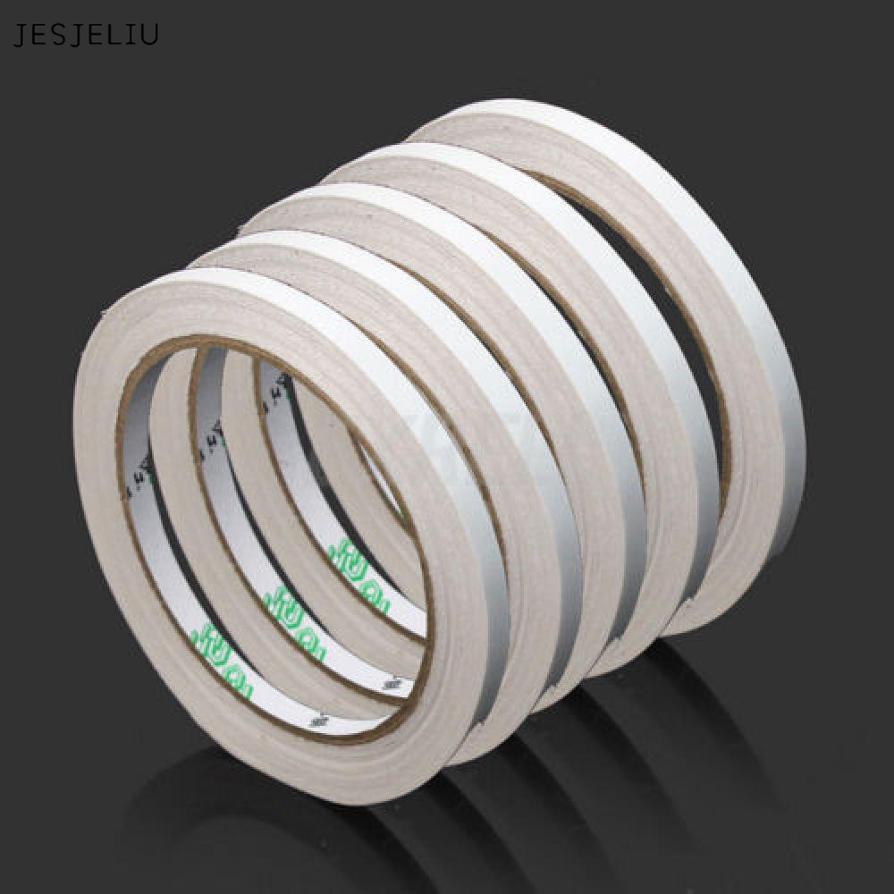 JESJELIU 1PCS  9m Super Strong Double Sided Tape Adhesive Convenient School Office Tapes Stationery Supplies 12 pcs cyanoacrylate quick dry adhesive strong bond fast 502 super liquid glue for leather rubber metal home office school tool