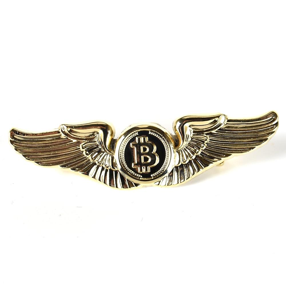 Gold Bitcoin Badge 2