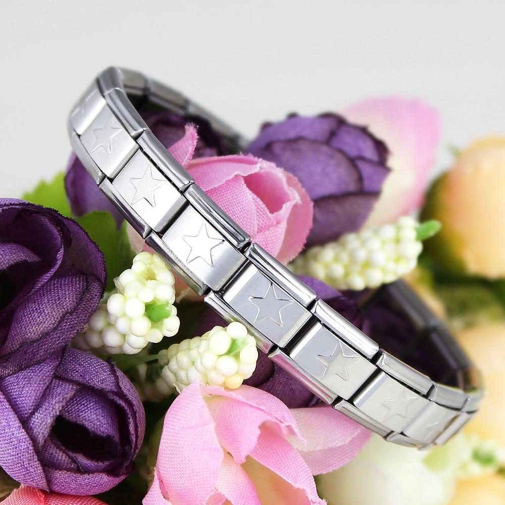 2018 Hot Gelang Untuk Wanita Charm 9mm Stainless Steel Frame Magnet Kepala Hello Kitty Pita Pink Perhiasan Pentacle Bangle 175 Cm Elastis Dilepas