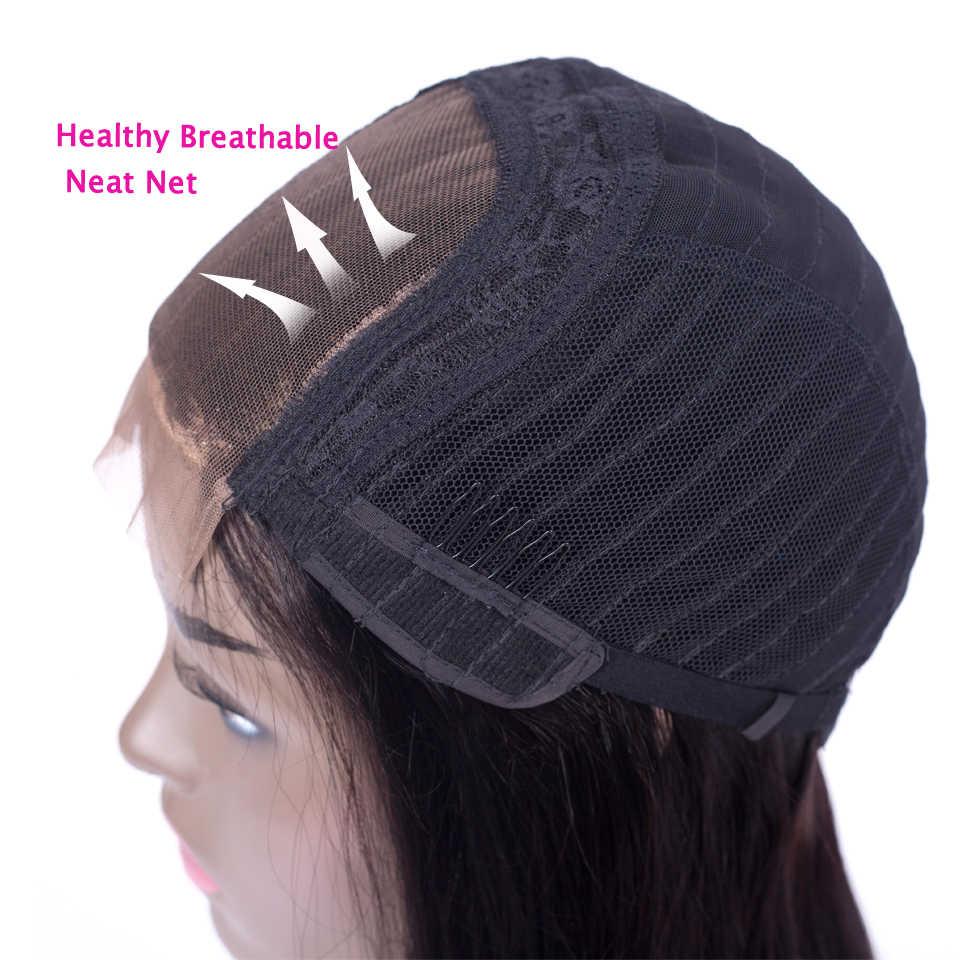 Beauty Grace индийские прямые волосы 4x4 дюймов кружева спереди al парик с волосами младенца NonRemy кружева передние человеческие волосы парики для черных женщин