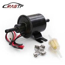 RASTP-12V New Black Upgraded Fuel Pump Low Pressure Bolt Wire Diesel Petrol HEP-02A for Car Carburetor Motorcycle ATV FP009-TP