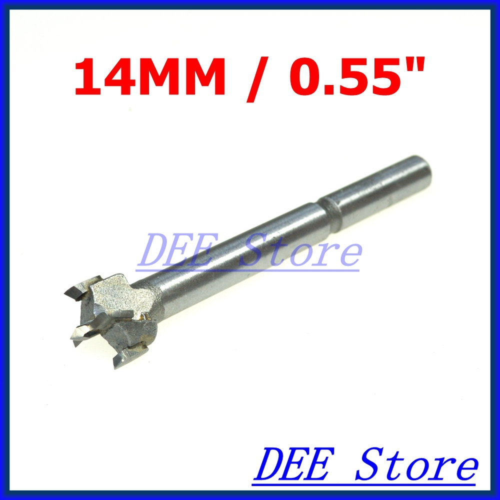 High Quality 14mm/0.55 inch New Forstner Auger Drill Bit Woodworking Hole Saw Wood Cutter Silver Tone new & high quality blue color new 1pcs flute 16 hole closed hole c tone e key advance model red professional new