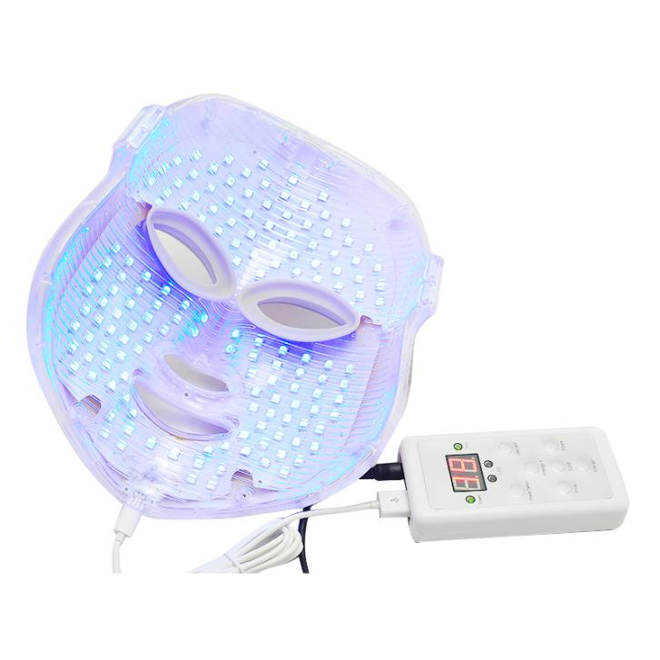 3 Colors Light Photon LED Facial Mask Skin Rejuvenation Beauty Therapy Photo Therapy led lamp pdt skin rejuvenation beauty lamp photon therapy equipment 4 colors spa facial skin care