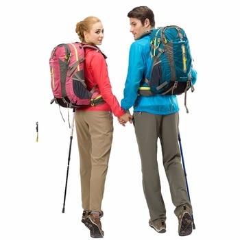 Maleroads Rucksack Camping Hiking Backpack Sports Bag Outdoor Travel Backpack Trekk Mountain Climb Equipment 40 50L Men Women 5