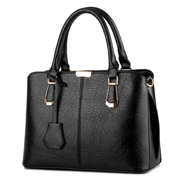 New Brand Sequined Women Business Handbag Fashion Shoulder Bag Casual Large Capacity Women Bag Designer PU Leather Tote Bag