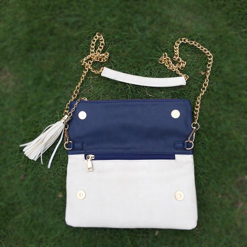 Schulter Mix Foldover Abendtasche Großhandel Metallkette Handtasche Dom106190 Farbe Farben Rohlinge Mit Drei Availabe 8HIHq56