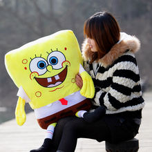 lovely plush Spongebob toy the cartoon Spongebob cute big stuffed toy about 100cm