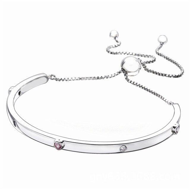 ba4f4d56c 2018 Authentic 925 Sterling Silver Original Explosion Bracelet Fit Women Pandora  Bangle Charm Gift DIY Jewelry 596585FPC