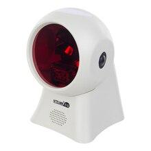 NETUM Высокое Качество Лазерный Планшетный Сканер Штрих-Кода 20 Линии Рабочего Всенаправленный Считыватель Штрих-кода для Розничный Магазин/Супермаркет