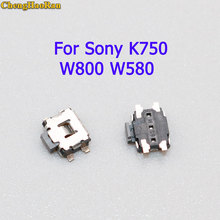 ChengHaoRan 5pcs Power on off Volume Switch Key Button replacement parts For Sony K750 W800 W580