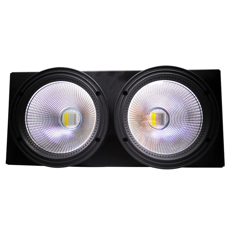 4pcs/lot 200W Warm White Cool White (RGBW 4IN1) LED COB Stage Lighting With Colorful Lighting Effect For Stage Party Wedding 200w led follow spot light warm white cool white 2in1 rgbw 4in1 zoom dmx512 stage led profile light