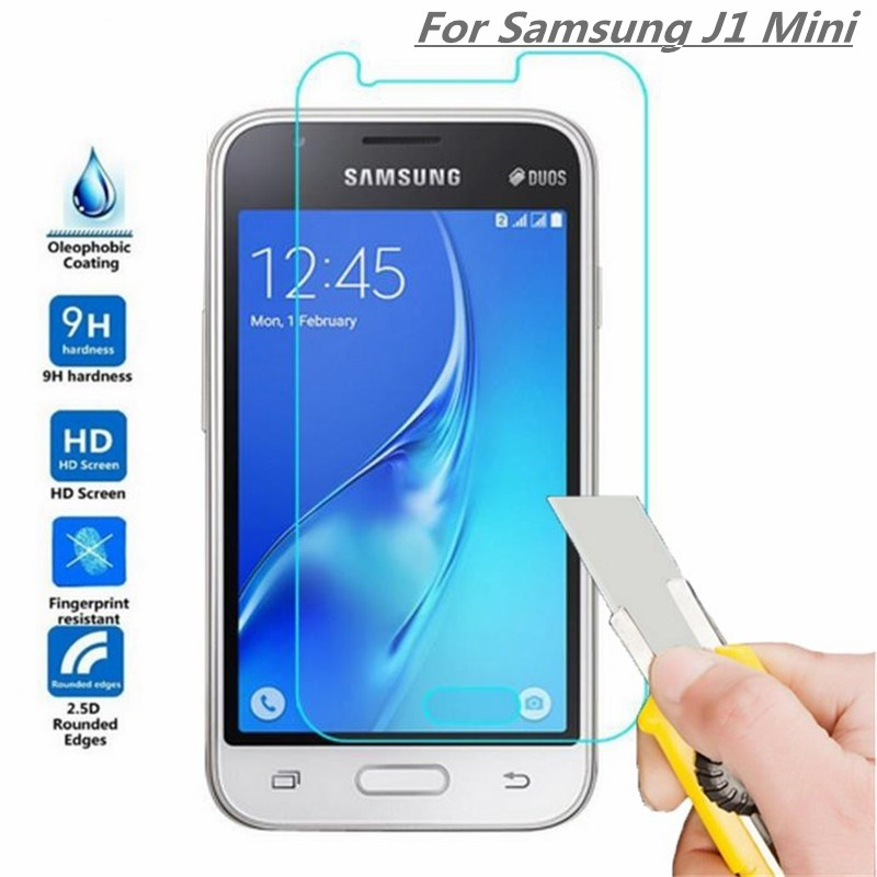 Tempered Glass For Samsung J1 Mini Screen Protector Protective Film Cover For Samsung Galaxy J1 Mini On Mobile Phone Glass