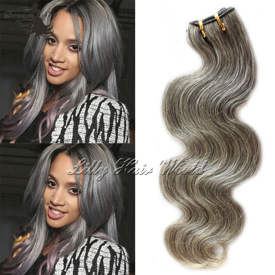 Vir Gin Hair 50grams Body Wave Gray Weave For White Old Women Whole Touch Soft Tangle Free Extension Grey On Aliexpress Alibaba