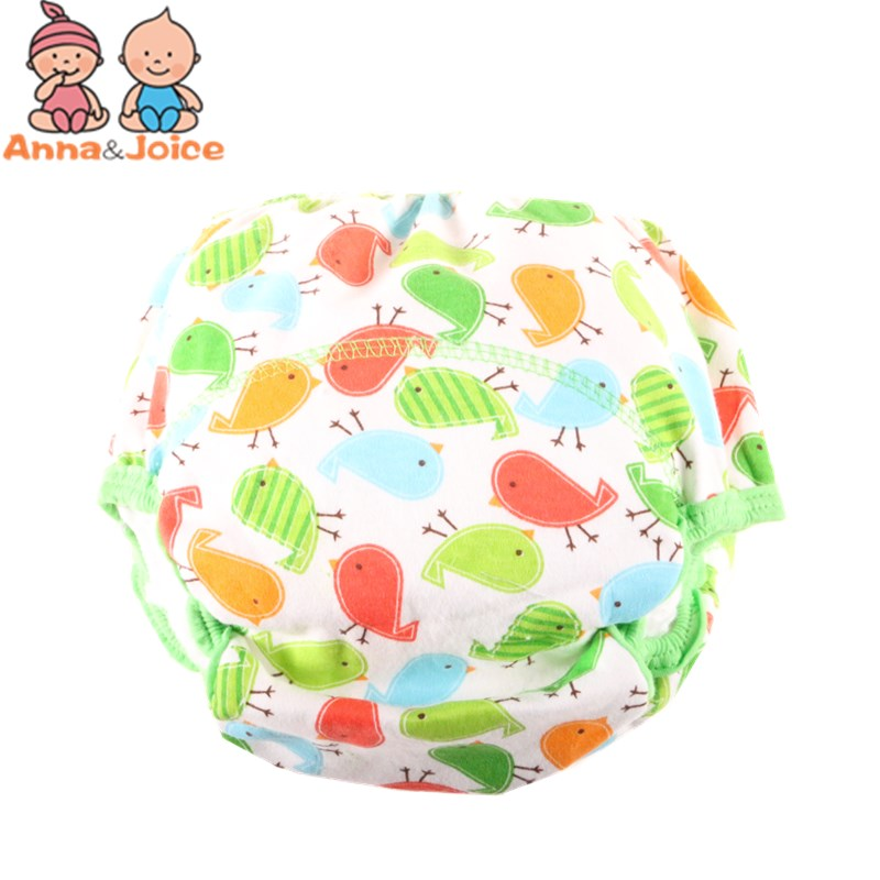 20pc lot Reusable Baby Training Pants Infant Shorts Cloth Diaper Nappies Baby Waterproof Potty Training panties