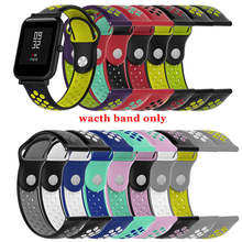 Silicone Sport Wrist Strap Wristband For Huami Amazfit Bip Youth Watch Fashion Colorful Watch Band For Huami Amazfit Bip Youth 20mm nylon sport strap watchband for huami amazfit bip youth smart watch replacement comfortable wristband watch band strap