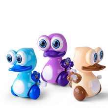 Lovely Clockwork Toy Ducks Children Cute Animal Ducks  Wind Up Toys for Baby Kids Random Color