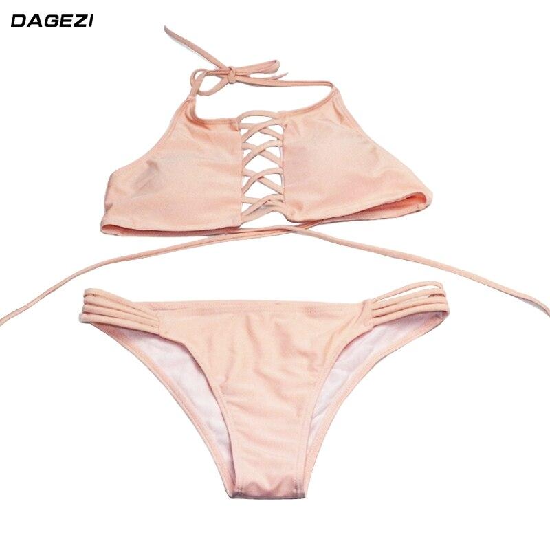 enger rosa Bikini