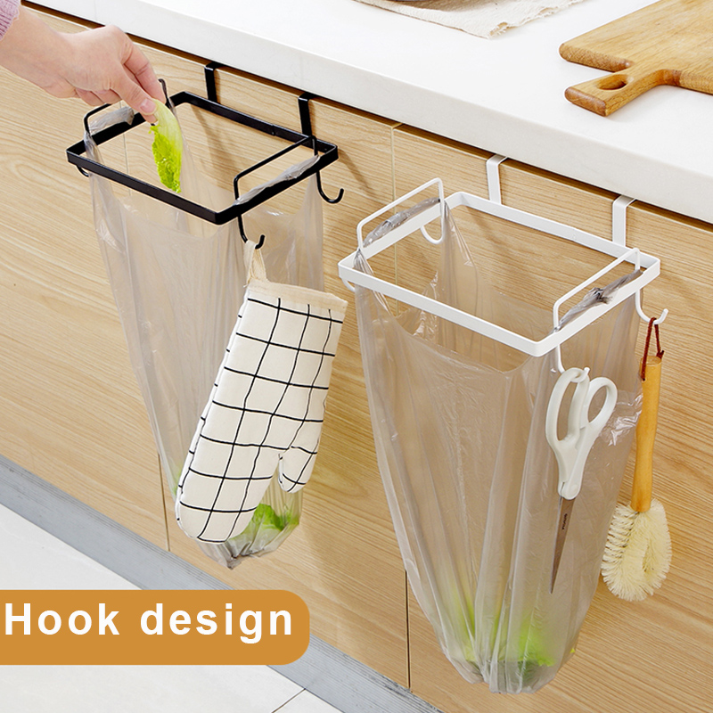 Iron Garbage Bag Rack towel Holder Rack Hanging storage