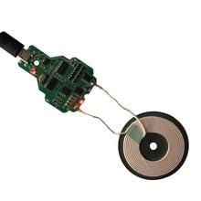 1 takım/grup 10W hızlı kablosuz şarj aktarıcı modülü kurulu PCB bobin Apple ile uyumlu 7.5W hızlı şarj çözümü