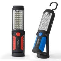Anjoet Levou Luz de Trabalho Magnética Flash Lanterna de Emergência Lâmpada Pendurada Lanternas Recarregáveis USB Embutido 18650 para a Reparação de Automóveis