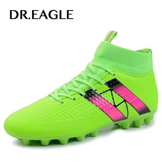 Для мужчин черный/зеленый Orange кроссовки AG подошва открытый futzalki высокие ботильоны Футбол Сапоги и ботинки для девочек Обувь Футбол бутсы Футбол superfly загрузки
