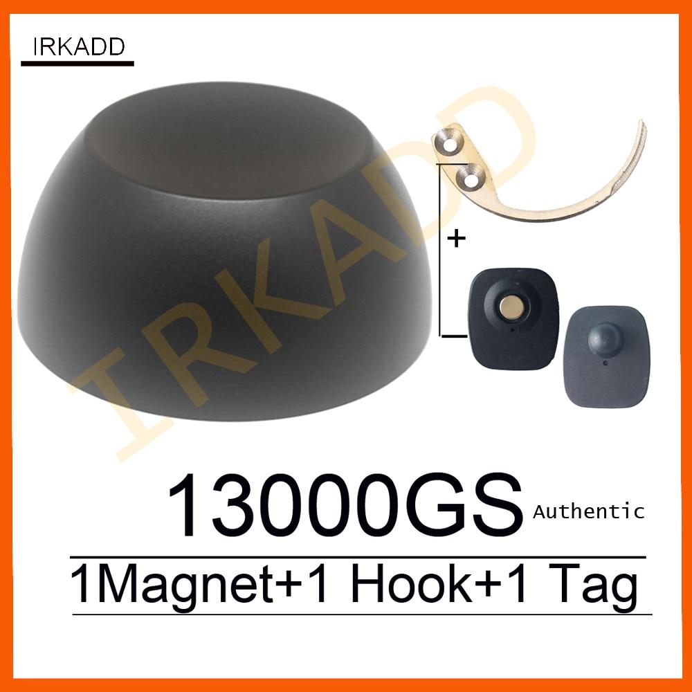 Eas superlock sicherheit tag detacheur 13000GS magnetische golf tag detacheur shop sicherheit alarm system + 1 haken detacheur schlüssel detacheur