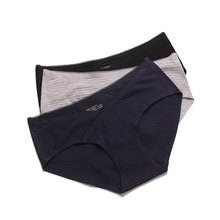 5ddad7cbb9 Women Cotton Panty Ultra-thin Seamless Breathable Lingerie Mid-rise Sexy  Solid Color Underwear