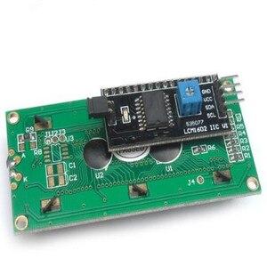 Image 2 - 10 sztuk (tło Green screen) IIC/I2C 1602 moduł LCD żółty zielony zapewnia plików bibliotek