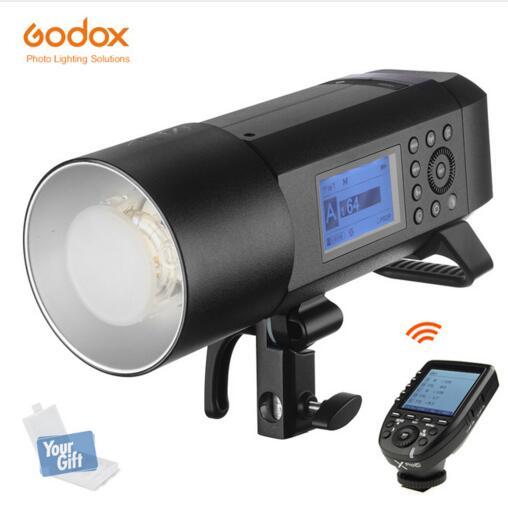 Godox AD400 Pro WITSTRO All-in-One del Flash Esterno AD600Pro Li-on Della Batteria TTL HSS con Built-In 2.4g Senza Fili Sistema X (AD400PRO)