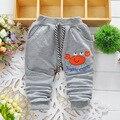 2016 новая весна корейской версии высококачественный хлопок мультфильм изображения мальчик брюки 0 - 2 год брюки девочки брюки