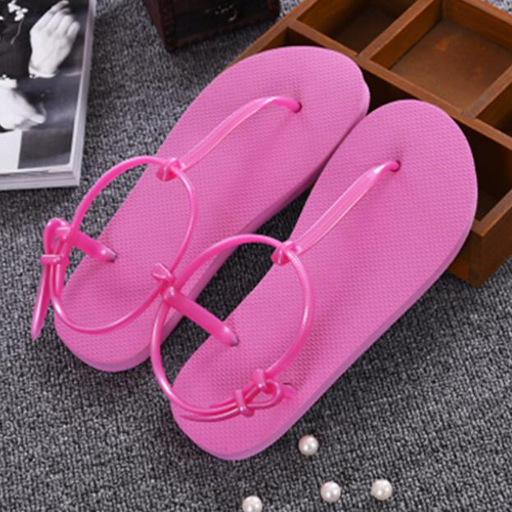 Women Sandals Flip Flops Beach T Stripe Summer Flat Sandals female Gladiator Sandals Basic Slippers Flip Flops Shoes Sandalias dreamshining female summer fruit sandals party sandals beach slippers sandalias watermelon orange pitaya kiwi